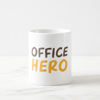 Office hero coffee mug