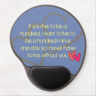 Office Home School Personalize Destiny Destiny'S Gel Mouse Pad