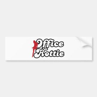 office hottie bumper sticker