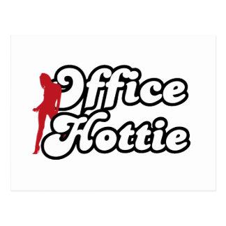 office hottie postcard