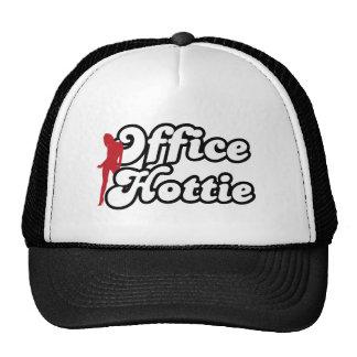 office hottie trucker hat
