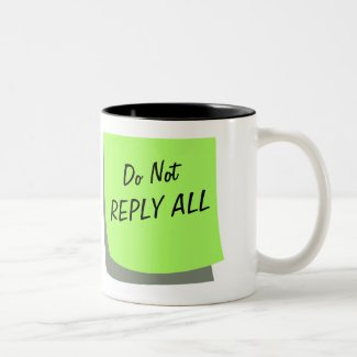 Office Humor Funny Notes Customizable Coffee Mug