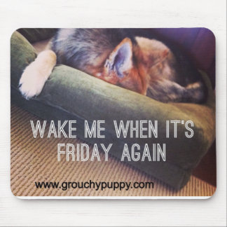 Office Humor Gifts Funny Dog Mousepad