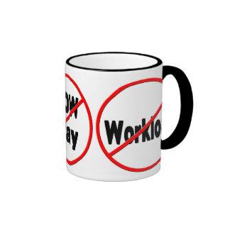 OFFICE HUMOR MUG - ANTI/MEETINGS/LOW PAY/WORK
