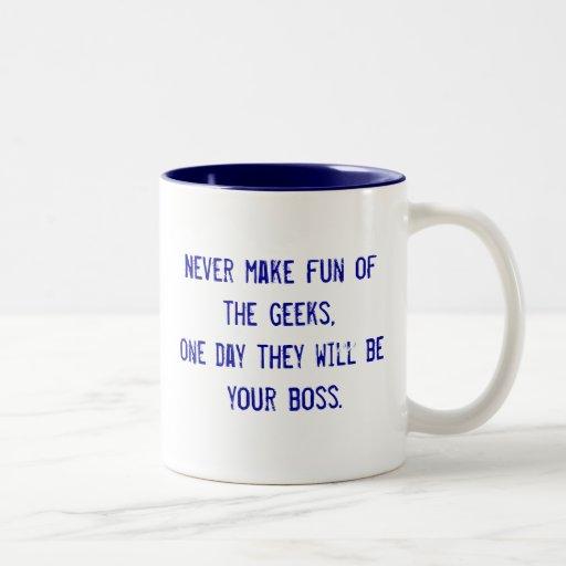 Office Humor Two-Tone Coffee Mug