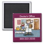 Office Magnet del doctor Iman Para Frigorífico