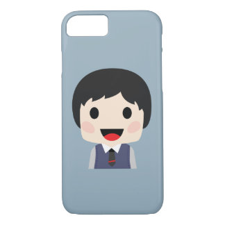 Office Man with neck tie iPhone 7 Case