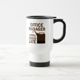 Office Manager (Funny) Gift 15 Oz Stainless Steel Travel Mug