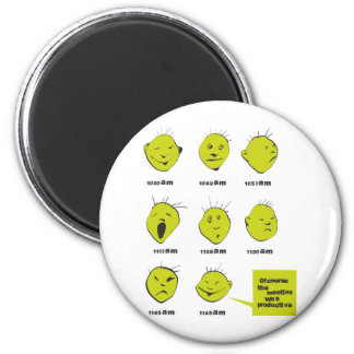 office meeting 2 inch round magnet