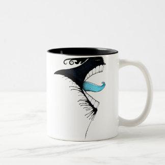 Office Monster 2 Two-Tone Coffee Mug