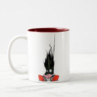 Office Monster 4 Two-Tone Coffee Mug