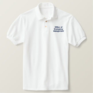 Office of Emergency Management Embroidered Polo Shirt