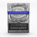 """Office of the Year Police Award<br><div class=""""desc"""">Customize this office of the year police award to make a great gift.</div>"""