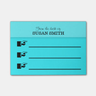 Office organizer Post-it® note PERSONALIZE small Post-it® Notes