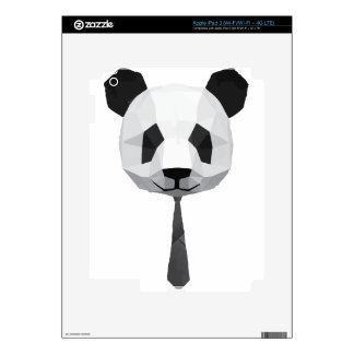 Office Panda T shirt iPad 3 Decals