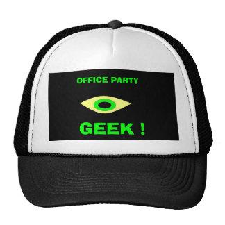 OFFICE PARTY, GEEK ! TRUCKER HAT