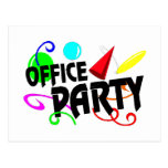 Office Party Postcard