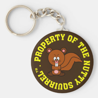 Office Personal Property Identification Label Keychain