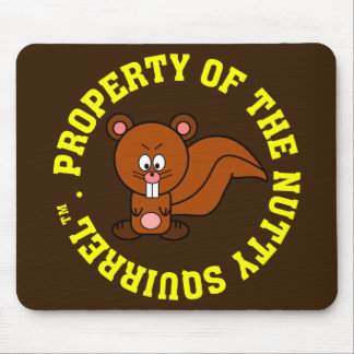 Office Personal Property Identification Label Mouse Pad