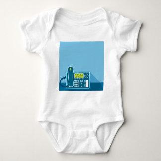 Office Phone Baby Bodysuit
