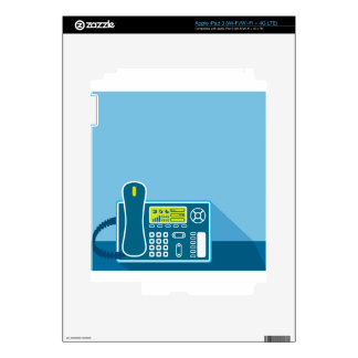 Office Phone Decals For iPad 3