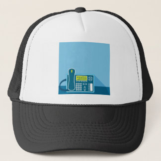 Office Phone Trucker Hat