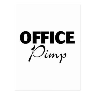 Office Pimp Postcard
