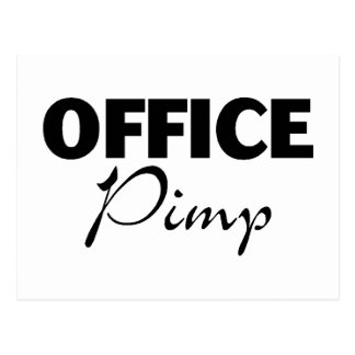 Office Pimp Postcard
