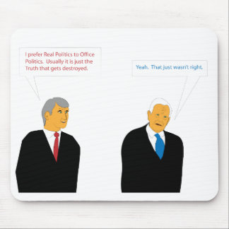 Office Politics Mouse Pad