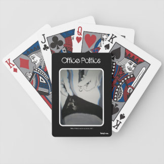 'Office Politics' Playing Cards