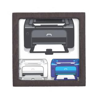 Office Printer Jewelry Box