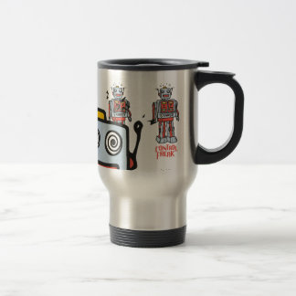 Office product 15 oz stainless steel travel mug
