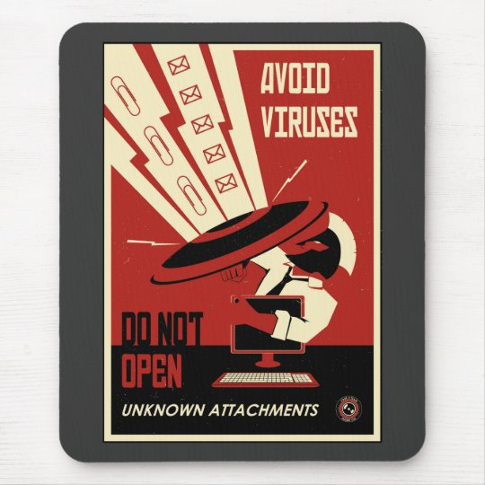 Office Propaganda: Downloads Mouse Pad