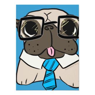 Office Pug Card