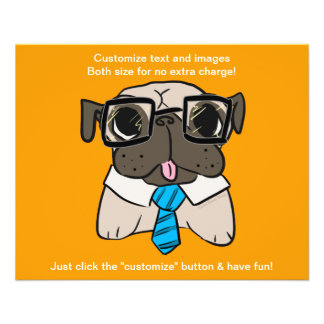 Office Pug Flyer