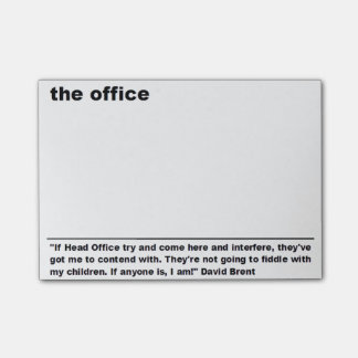 Office Quote Post It Notes
