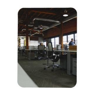 office rectangular photo magnet