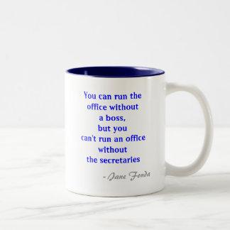 Office Secretary Quote Mug