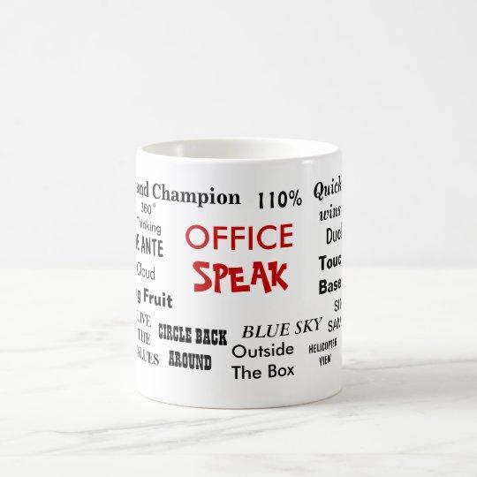 office cliches. Office Speak Management Jargon Cliches Quotes Coffee Mug K