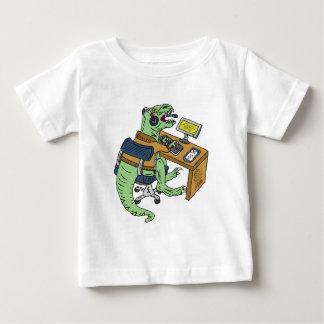 Office T-Rex Baby T-Shirt