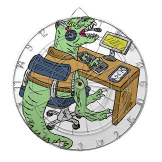 Office T Rex Dartboard