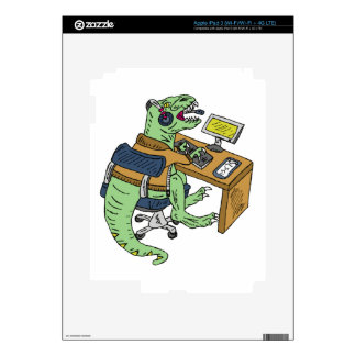 Office T-Rex iPad 3 Skin