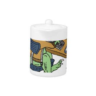 Office T-Rex Teapot