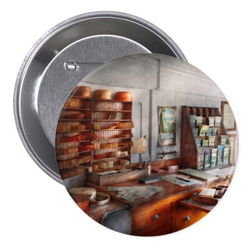 Office - The Purser's room 3 Inch Round Button