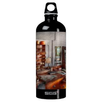 Office - The Purser's room Aluminum Water Bottle