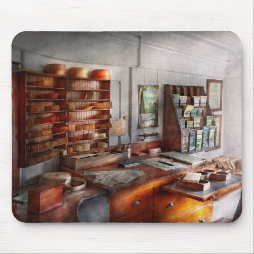 Office - The Purser's room Mouse Pad