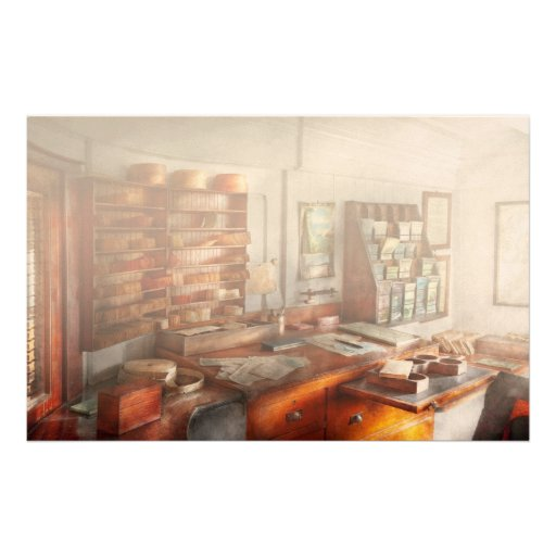 Office - The Purser's room Personalized Stationery
