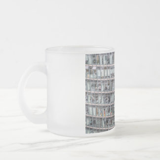 Office tower in Berlin 10 Oz Frosted Glass Coffee Mug
