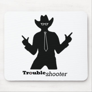 Office Troubleshooter Mouse Pad