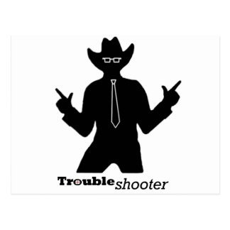 Office Troubleshooter Postcard